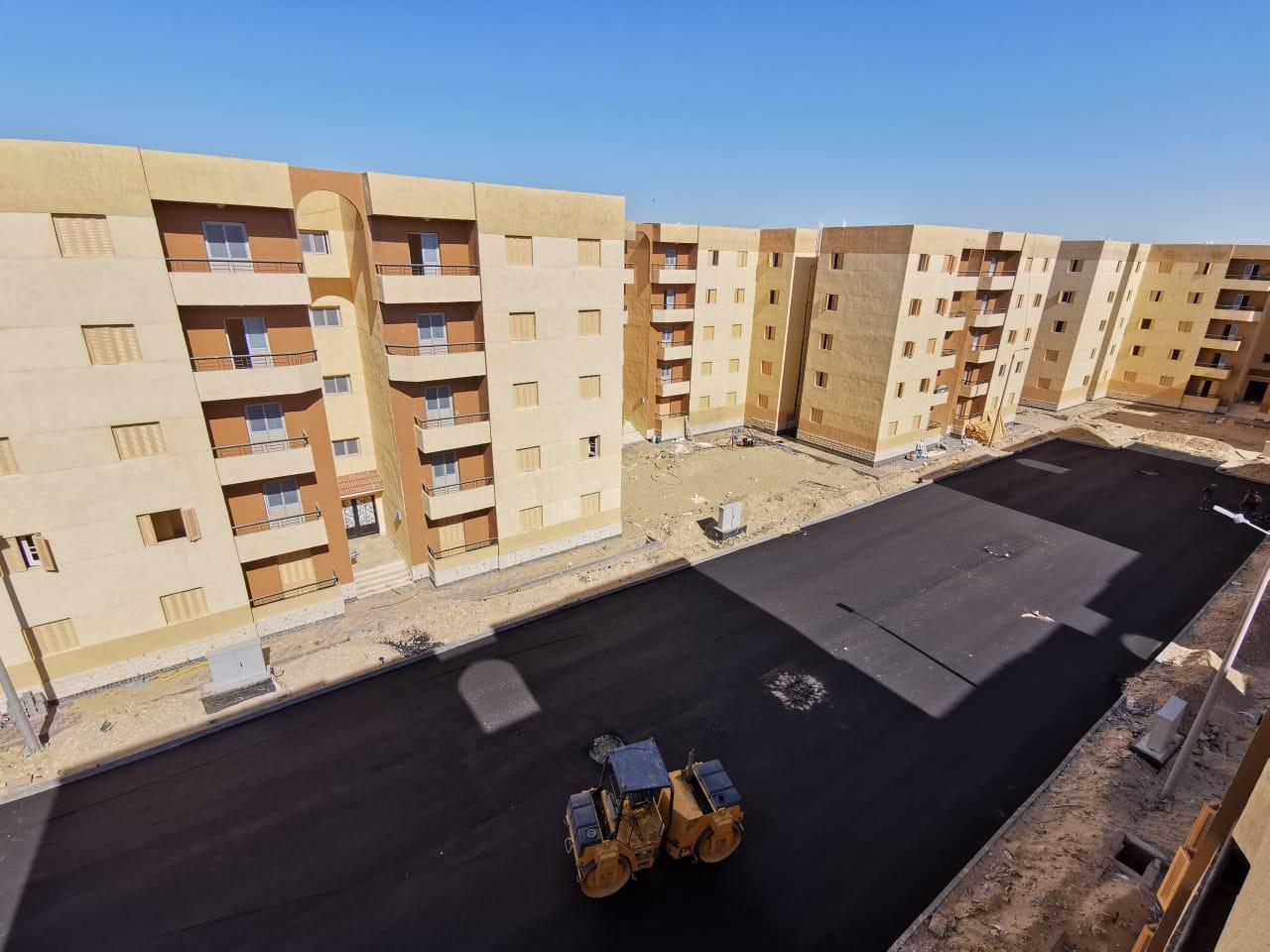 """مسئولو جهاز بورسعيد الجديدة""""سلام"""" يتفقدون مشروعات الإسكان والمرافق بالمدينة"""