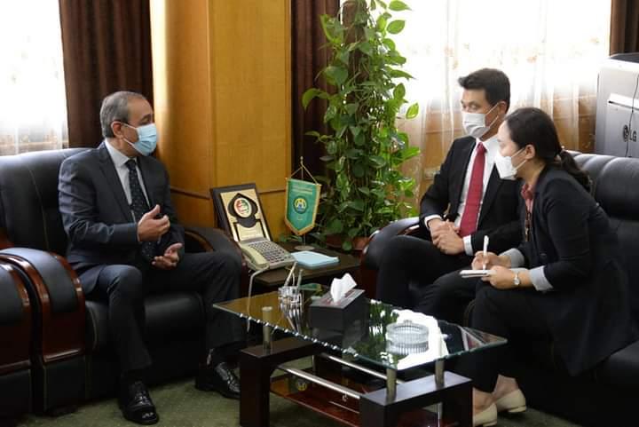 محافظ الإسماعيلية يستقبل سفير كوريا الجنوبية لبحث سبل التعاون المشترك