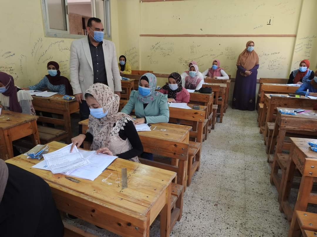تعليم المنوفية : 99.60 % نسبة الحضور بين طلاب الشهادة الإعدادية لليوم الرابع من اختبارات الدور الأول