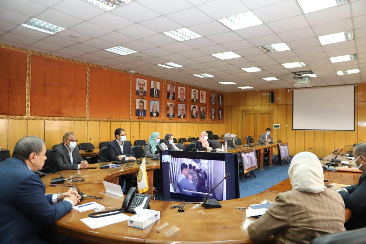 وزير القوى العاملة يشارك في الملتقى الدولي للتضامن مع عمال وشعب فلسطين