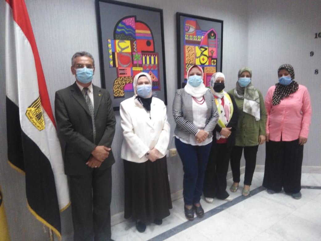 مركز رصد بجامعة حلوان يدشن مبادرة كفر العلو بلا أمية