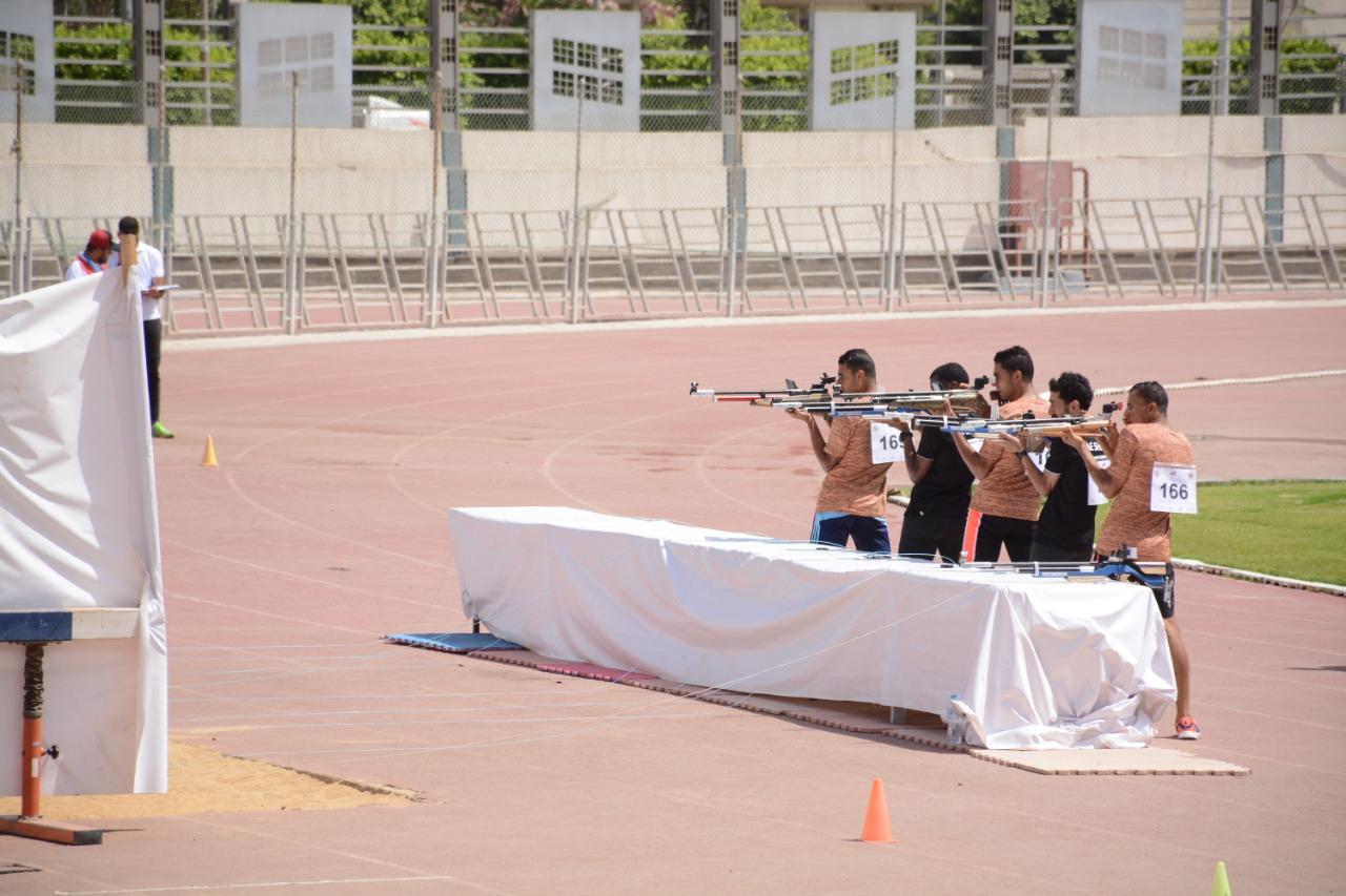 مصر تتصدر الترتيب العام للبطولة العربية للرماية 8 ذهبيات و4 فضيات و4 برونزيات للفراعنة