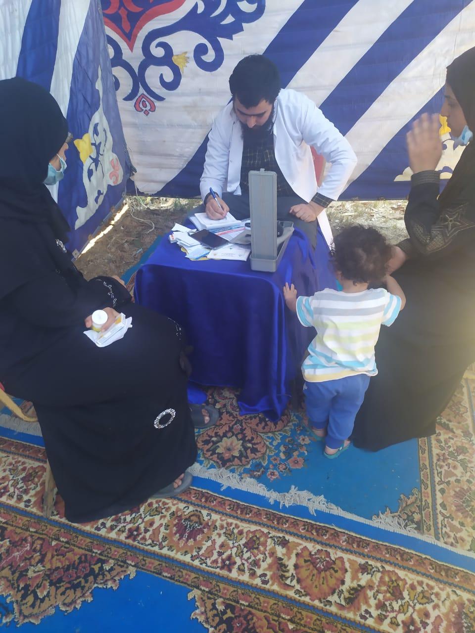 جامعة الزقازيق تنظم قافلة طبية لقرية أبو نافع بالقصاصين شرق مركز الحسينية