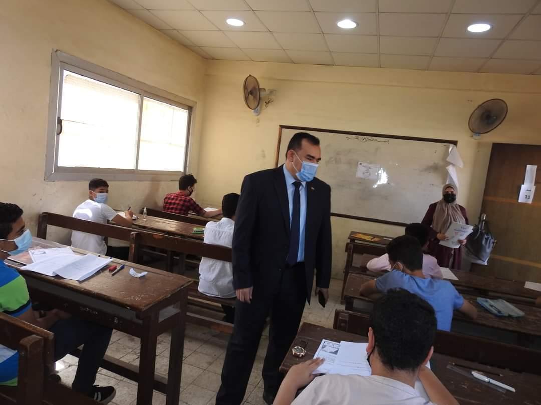 تعليم المنوفية : 99.60 % نسبة الحضور  في امتحانات الدور الأول لطلاب الشهادة الإعدادية  العامة ليومها الخامس