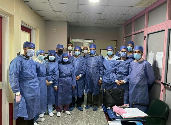 قطار برنامج زراعة الأعضاء بمستشفيات جامعة الزقازيق يصل إلى الحالة الخامسة