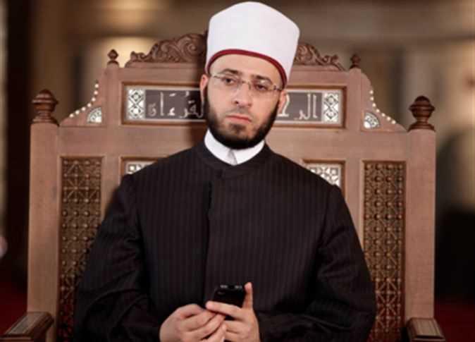 """الليلة .. الشيخ أسامة الأزهري يكشف تفاصيل  قضية """"الإذن بالذكر """" مع رامي رضوان"""