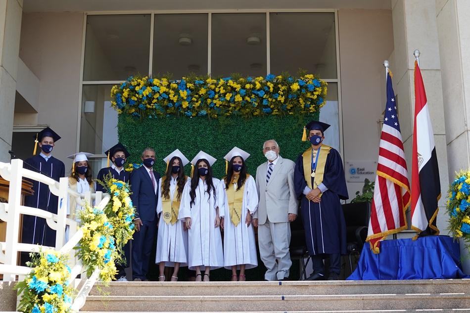 وليد ابو شقرا : احتفلنا بتخرج دفعة جديدة ونخدم التعليم فى مصر و الوطن العربى