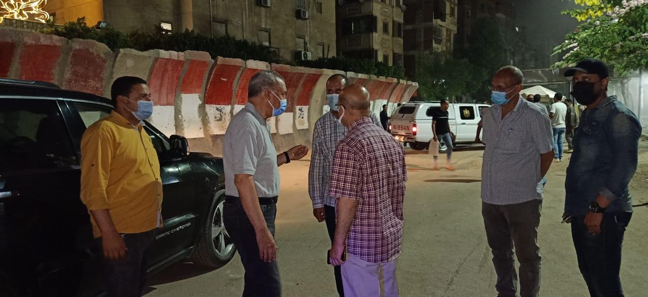محافظ القليوبية يتابع أعمال تطوير محيط قصر محمد علي بحي غرب شبرا الخيمة