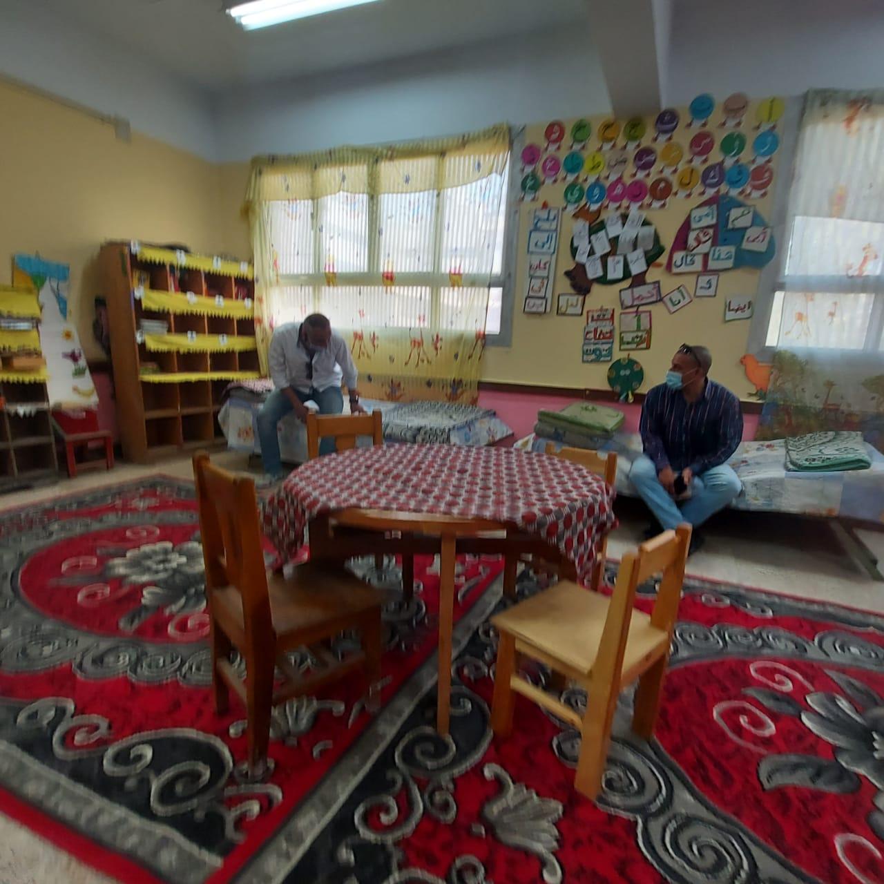 """""""تعليم القليوبية"""" استراحات المعلمين في القليوبية جاهزة لاستقبال مراقبي  الدبلومات الفنية."""