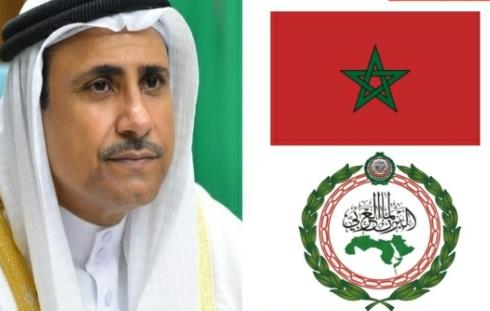العسومي: البرلمان العربي يدعو لعقد جلسة خاصة طارئة لمناقشة قرار البرلمان الأوروبي بشأن المغرب
