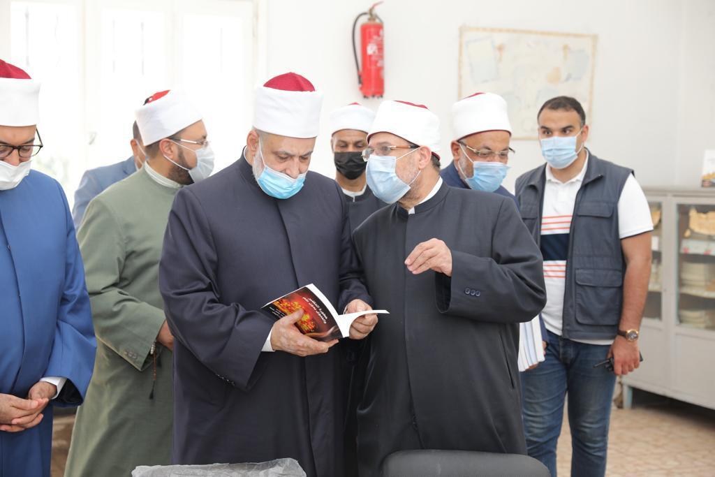 وكيل الأزهر ووزير الأوقاف يفتتحان معسكر أبي بكر الصديق لتدريب الأئمة بالإسكندرية