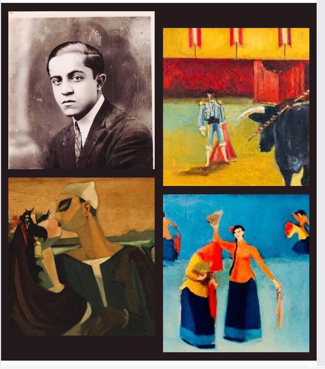 """""""أدهم"""" أول معارض مبادرة الدكتورة وفاء ياديس لرواد الفن المعاصر"""