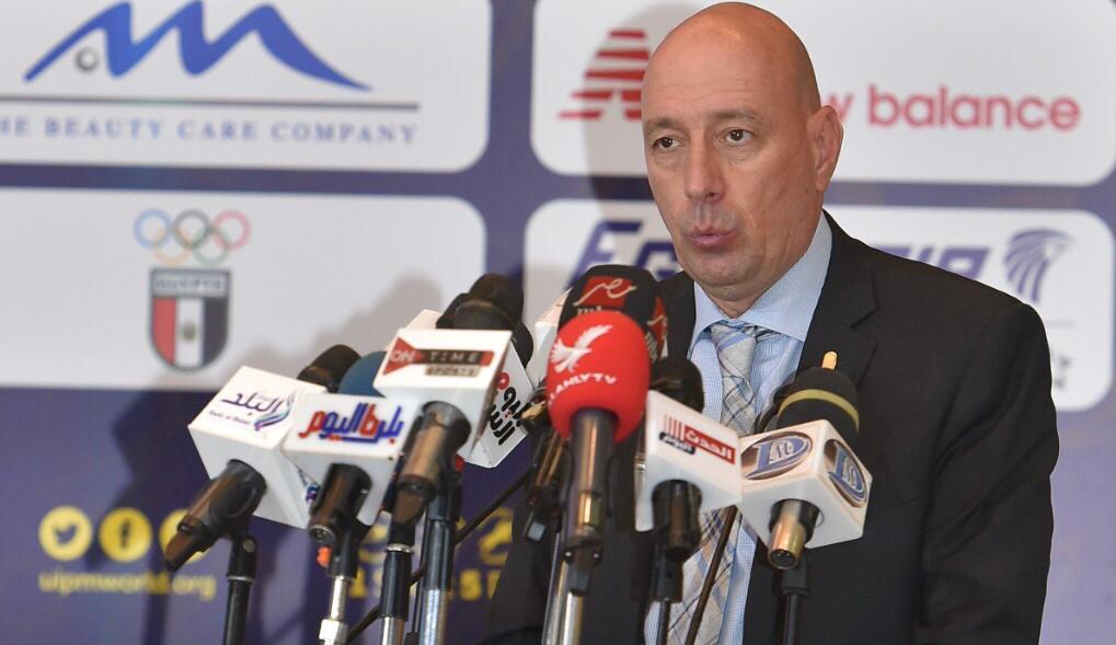 العريان: اشادة واسعة من الوفود المشاركة بتنيظم مصر لكأس العالم للخماسي الحديث