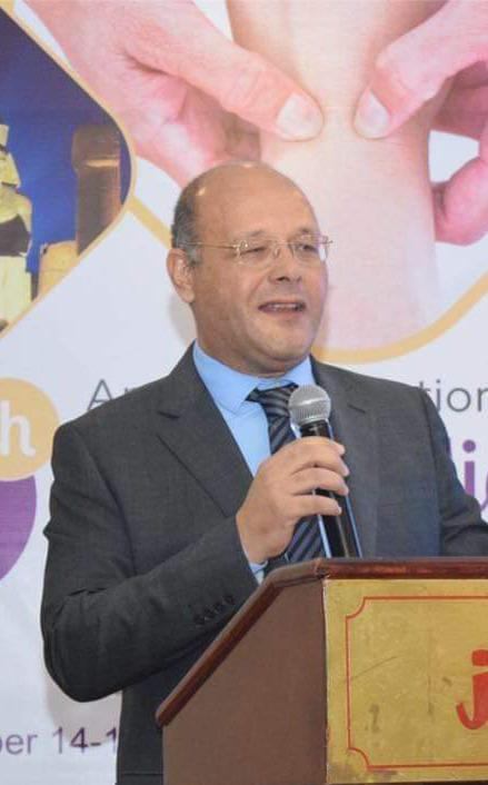 حسان النعماني نائبا للدراسات العليا بجامعة سوهاج