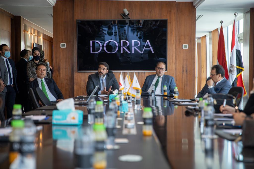 مجموعة شركات درة توقع بروتوكول تعاون مع الجمعية المصرية للتسويق العقاري
