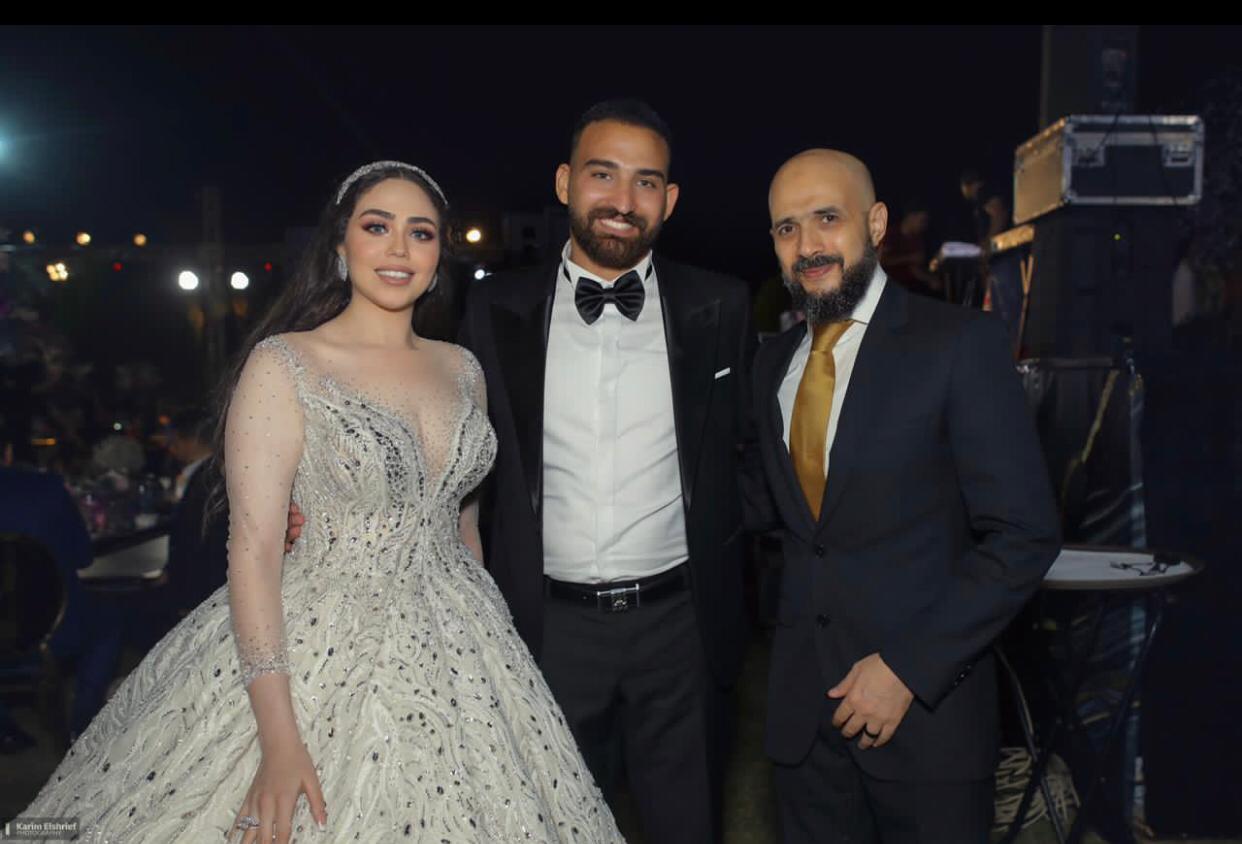 """محمد إيهاب سلام يحتفل بزفاف شقيقه """"سلام"""" على الدكتورة ياسمين عبد الله بحضور الأهل والأصدقاء"""