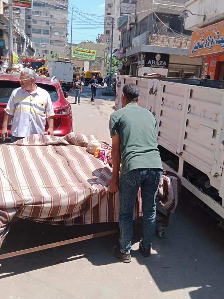 حملة موسعة لجهاز حماية المستهلك لضبط الأسواق بمدينة نقادة