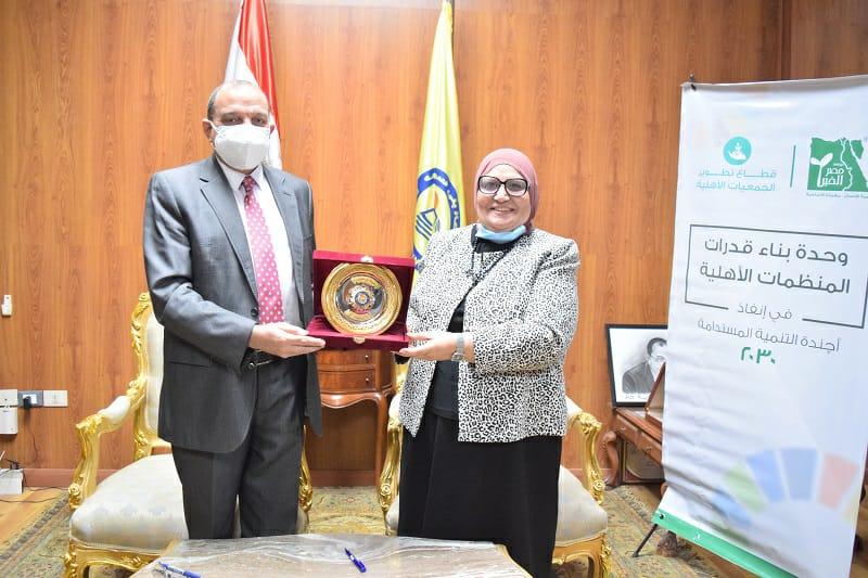 بروتوكول تعاون بين جامعة بني سويف ومؤسسة مصر الخير