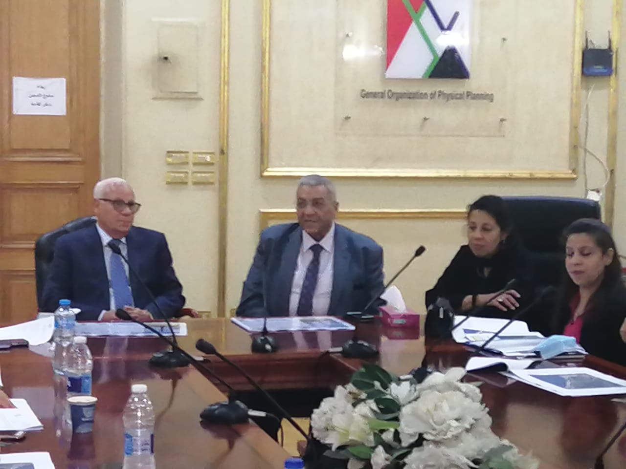 محافظ بورسعيد ورئيس الهيئة العامة للتخطيط العمرانى يستعرضان مشروع تحديث المخطط الاستراتيجى العام لمحافظة بورسعيد