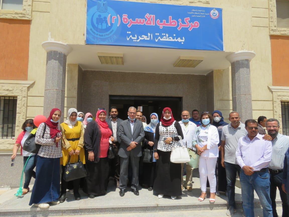 رئيس جهار مدينة العبور الجديدة يعلن افتتاح المركز الطبي بحي الحرية على مساحة 1500م٢