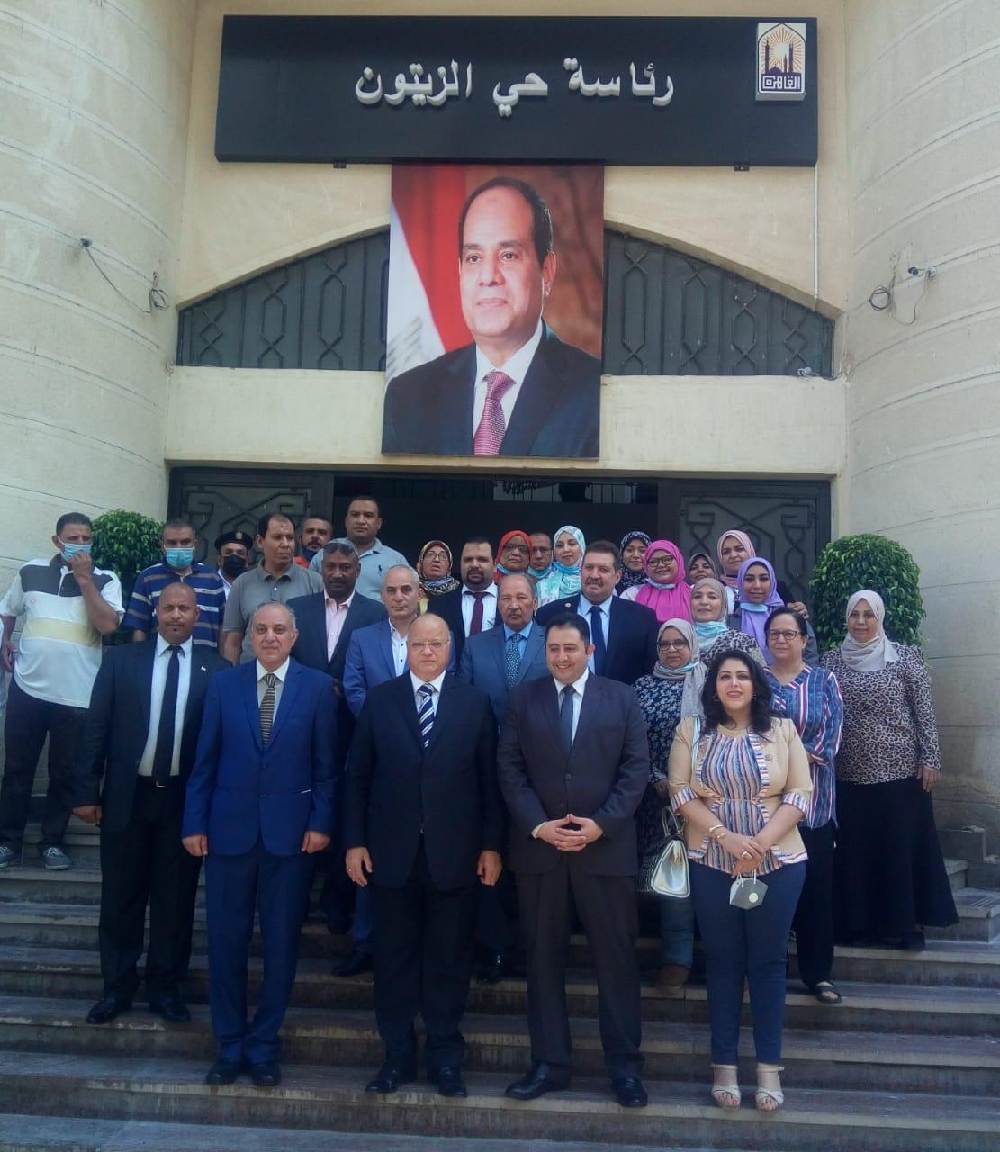 محافظ القاهرة يفتتح أعمال تطوير حي الزيتون والمركز التكنولوجي الخاص به
