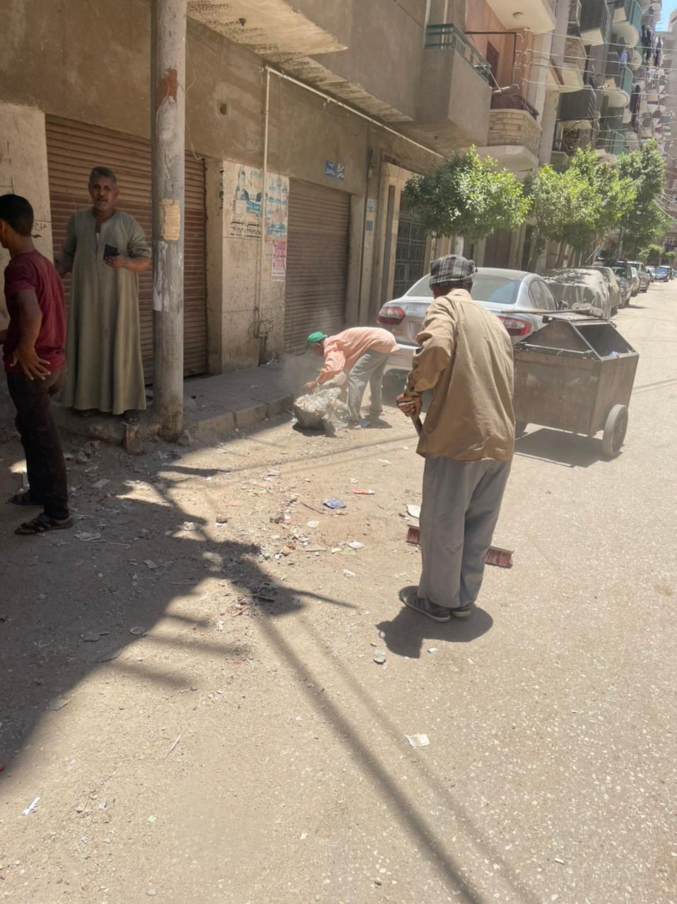 محافظ أسيوط: تكثيف أعمال النظافة بالأحياء والمراكز