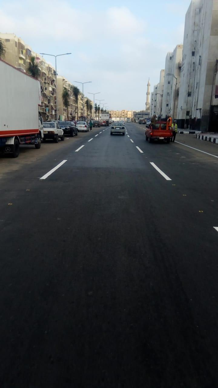 محافظ بورسعيد : الانتهاء من أعمال تخطيط شارع عبد الرحمن شكرى بحى الضواحى  ضمن خطة تطوير الشارع