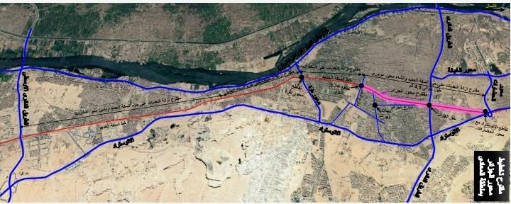 وزارة النقل توضح الملابسات حول انشاء محور الجزائر بالمعادى