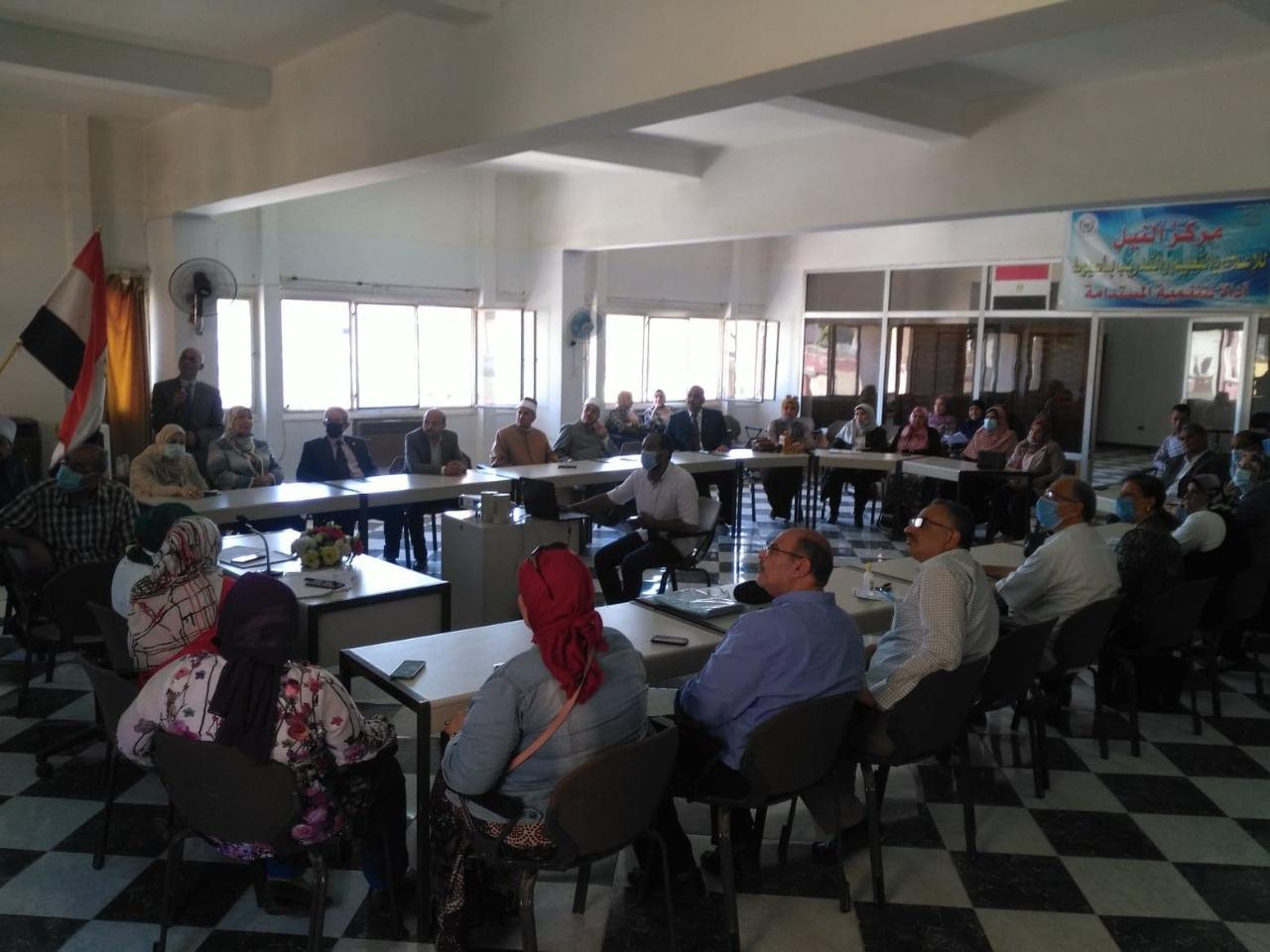 """المجلس القومي للسكان ينظم ندوة حول """"الواقع السكاني بأسيوط واستراتيجية مصر 2030"""""""