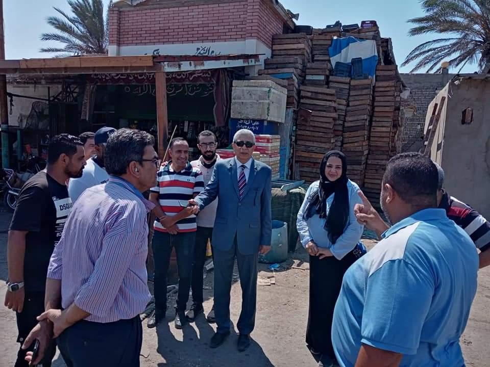الزراعة : رئيس هيئة الثروة السمكية يقوم بزيارة مفاجئة لمنطقة بورسعيد