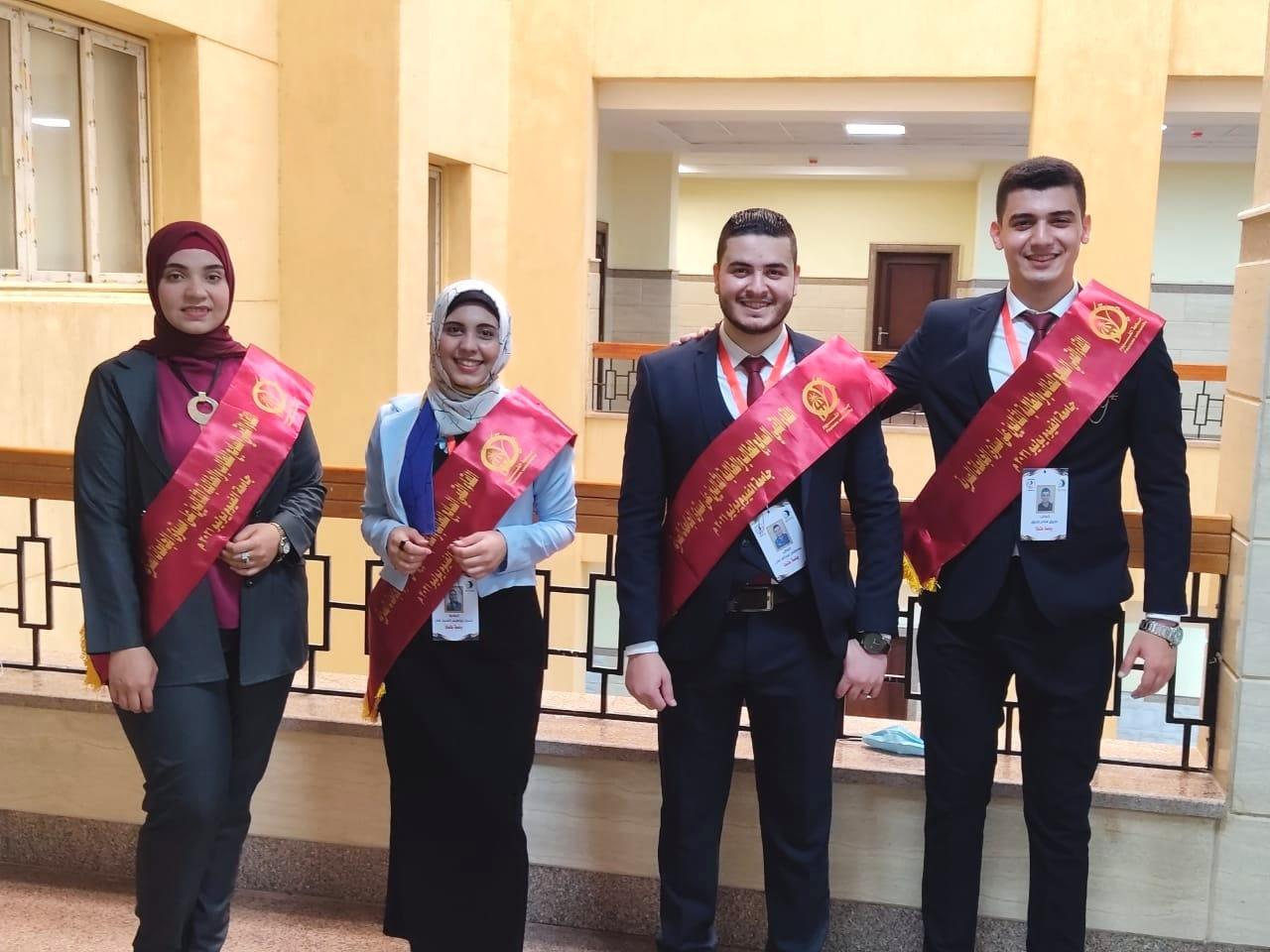 جامعة طنطا تشارك فى اللقاء القمي السابع للطالب والطالبة المثاليين على مستوي الجامعات المصرية