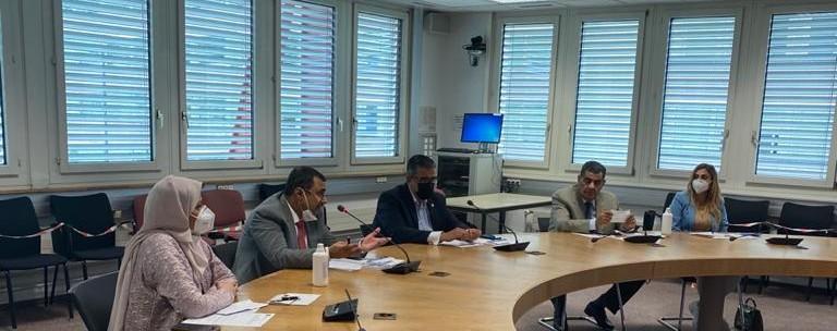 العسومي: الدعوة إلى إنشاء شبكة برلمانية عربية للعلوم والتكنولوجيا والابتكار