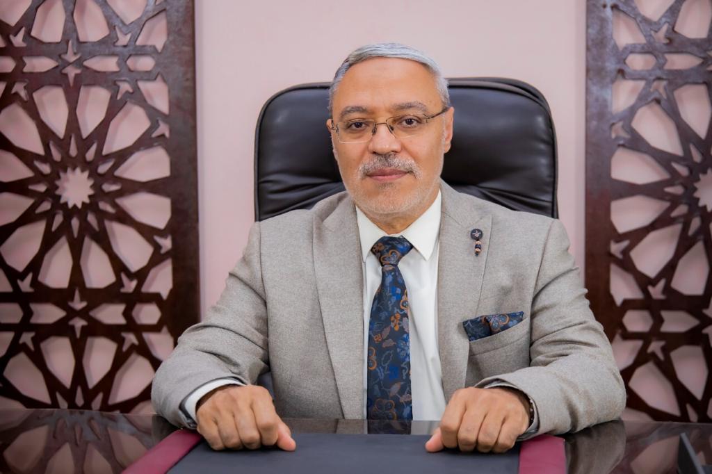 رئيس جامعة طنطا يهنئ الرئيس السيسى بعيد الاضحى