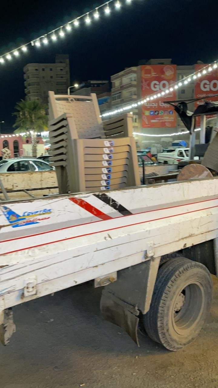 تحرير ٢٠ محضر إشغال طريق ورفع ١٨٣ حالة إشغال مخالفة بمركزي دمنهور وادكو