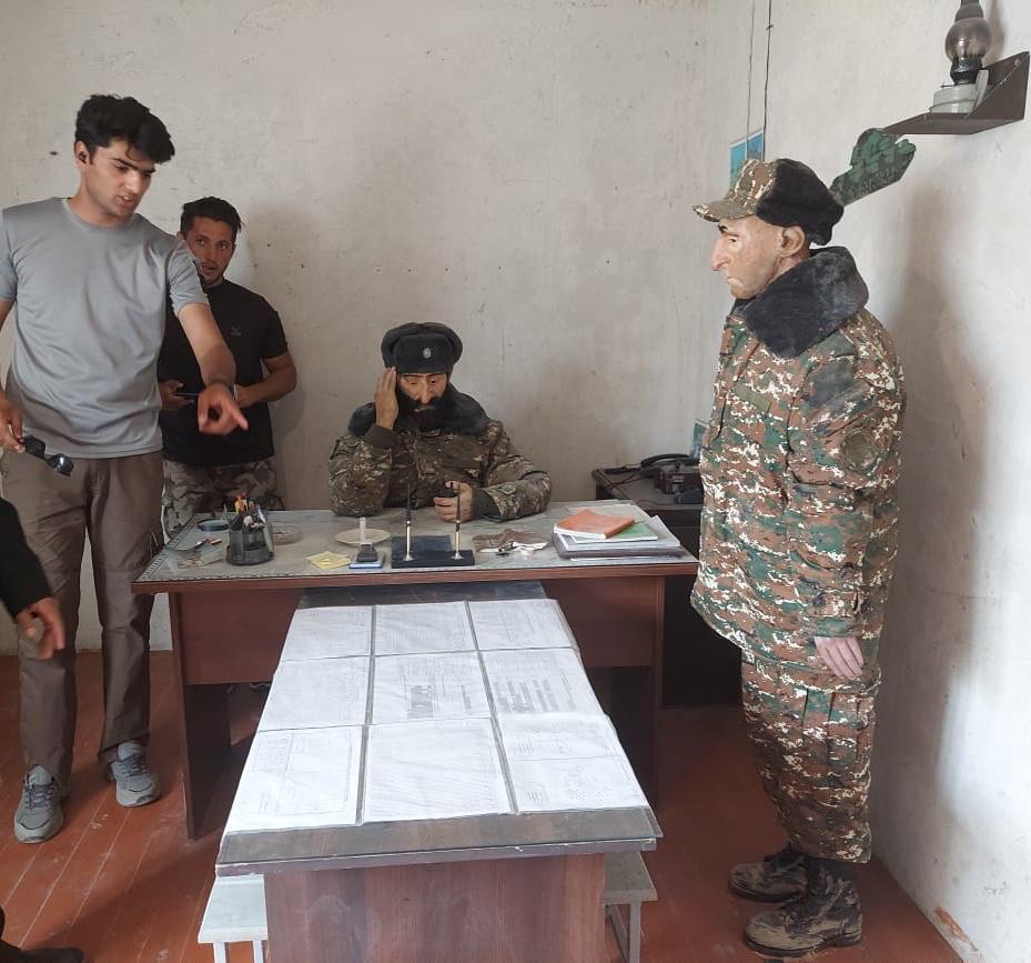 """كوماندوز اذريبجان يكشفون """"للقرار العربى """"عن خطه تحرير أراضيهم من الأرمن فى ٤٤يوما."""