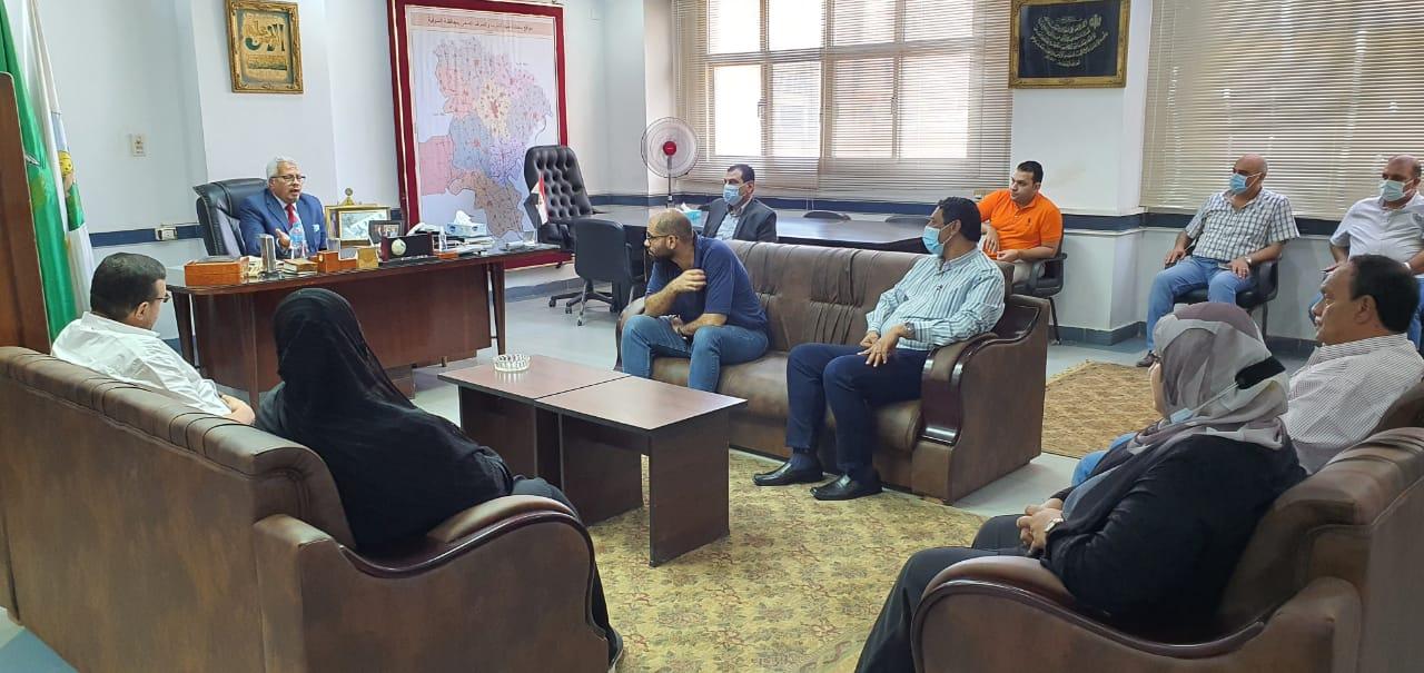 مياه المنوفية: تشكيل غرفة طوارئ بمناسبة عيد الأضحى المبارك