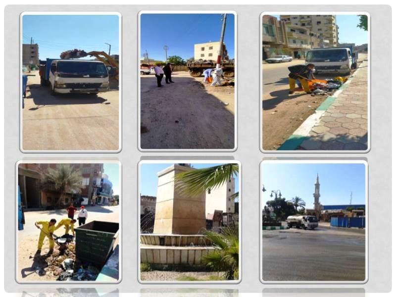 حمالات تنظيف وتعقيم في مختلف مدن محافظه الشرقيه