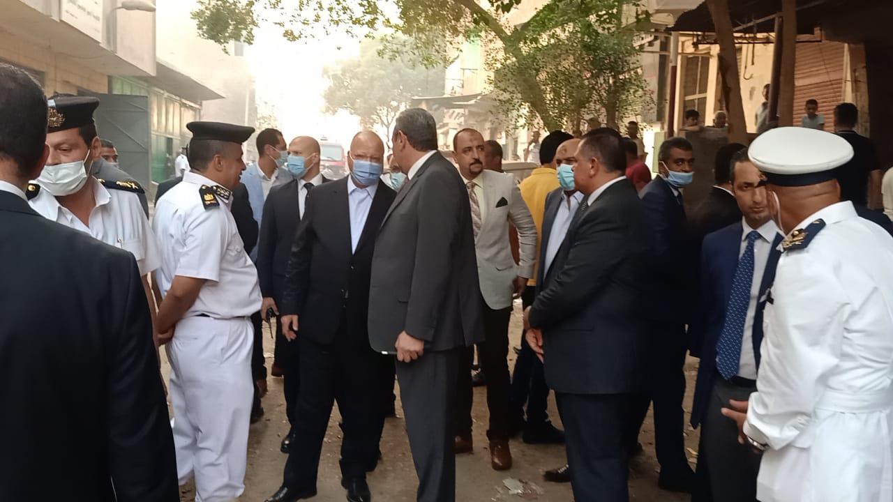 اخماد حريق عزبة خيرالله بمصر القديمه