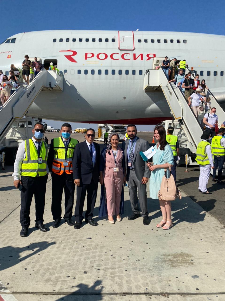 طائرات ضخمة البدن والطاقة الإستعابية لمواجة الطلب المتزايد من السائحين الروس على زيارة المقصد السياحى المصرى
