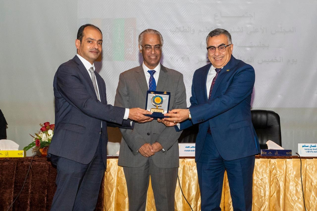 جامعة بورسعيد تستضيف اجتماع المجلس الأعلى للجامعات لشئون التعليم والطلاب