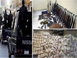 حملة أمنية تستهدف العناصر الإجرامية  بمحافظتى سوهاج والسويس