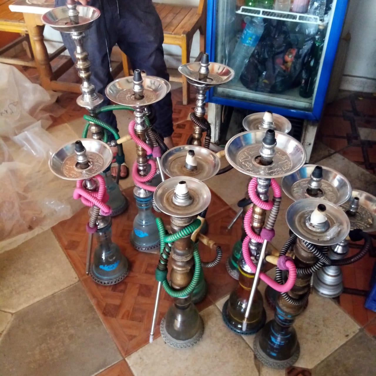 تحرير 23 محضر ومصادرة 36 شيشة في حملة بكفر الزيات والمحلة