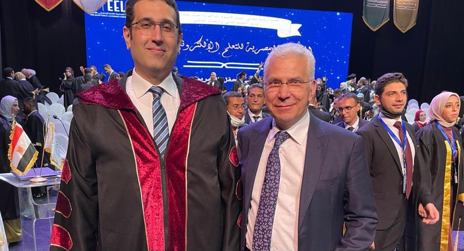 رئيس الجامعة المصرية للتعلم الإلكتروني يشيد بالشراكة العلمية مع جامعة طنطا