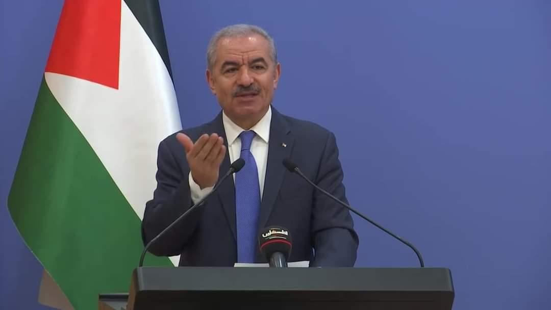 رئيس الوزراء الفلسطيني يدعو الأمم المتحدة لالزام إسرائيل بتطبيق اتفاقية جنيف الثالثة المتعلقة بالأسرى