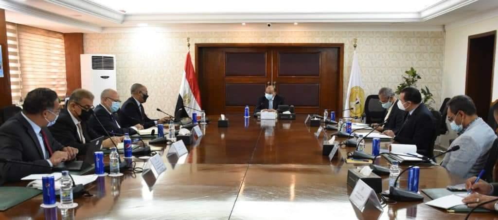 شعراوى  يبحث مع وفد البنك الدولي مستجدات برنامج التنمية المحلية بصعيد مصر ومقترحات تحسين وتطوير منظومة تسجيل العقارات