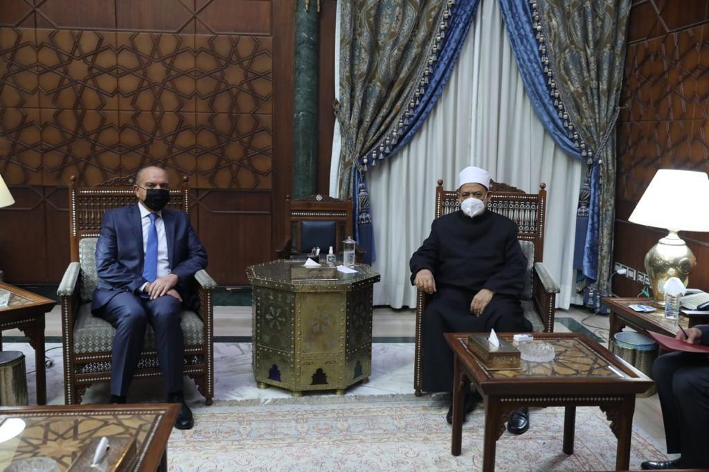 سفير الأردن : الأزهر مدرسة الإسلام والتنوير والاعتدال في العالم