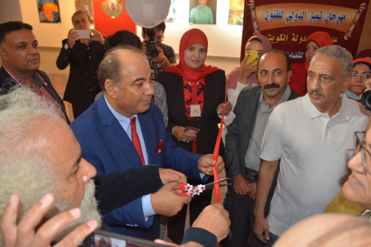 """افتتاح مهرجان """"تميز الدولي للفنون"""" بمشاركة العديد من نجوم الفن بمؤسسة الأهرام"""