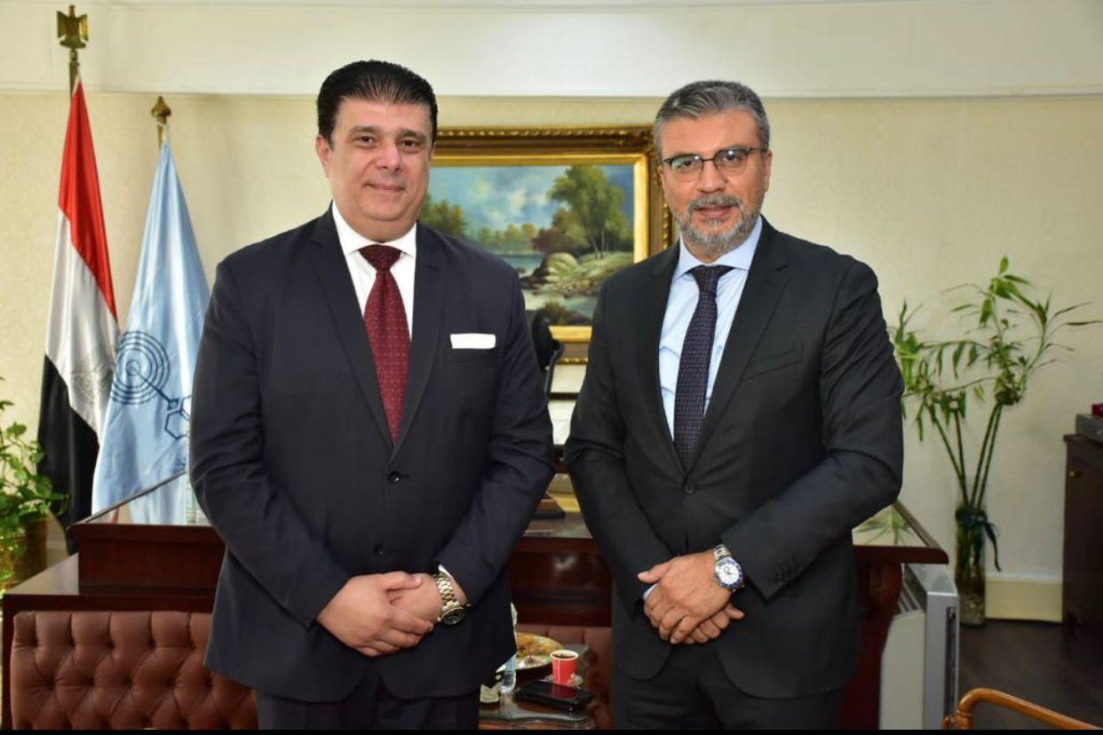 """رئيس """"الوطنية للإعلام"""" يلتقى رئيس اتحاد الإذاعات الإسلامية"""