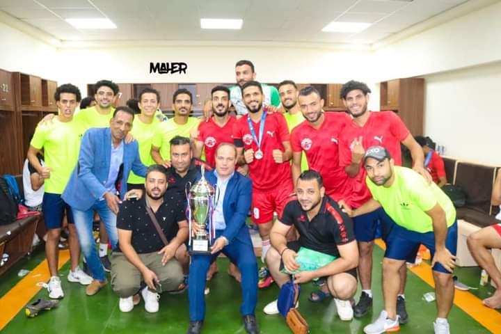 """""""الأنصاري"""" يهنئ منتخب الفيوم بحصوله على بطولة كأس أفرع منتخبات المحافظات لكرة القدم"""