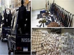 الداخلية: ضبط 183 سلاح نارى و  242 قضية مخدرات وتنفيذ 86418 حكم قضائى متنوع